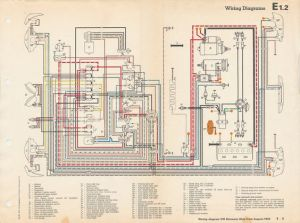 1971 VW Karmann Ghia WiringDiagram | TheSamba