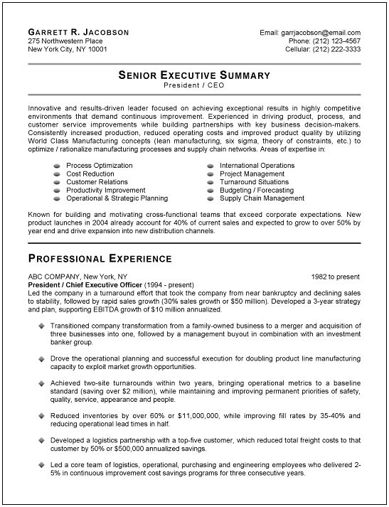 Resume Profiles Examples. Profile Example For Resume Professional
