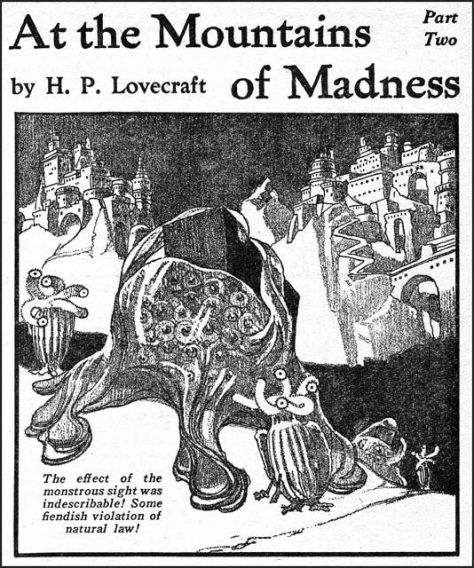 At the mountains of Madness - HP Lovecraft