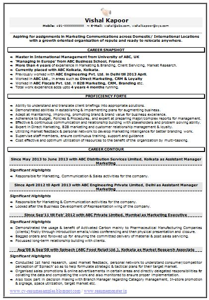 market research resume and marketing on pinterest