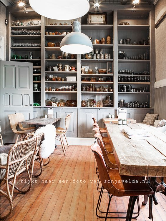 Tables, Pantry and Love the on Pinterest