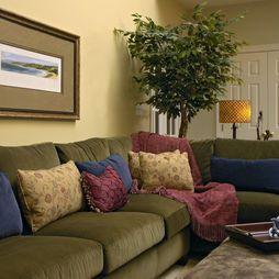 Living Room Ideas Dark Green Couch Decorating With Leather Sofa Mirror Hardwood Floors Fireplace Dark Green Sofa With Green Chair Ideas Para Pintar Y Decorar La Sala O Salita De Estar Mil