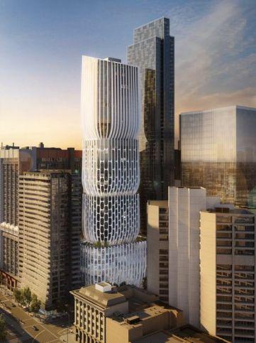 Melbourne 582-606 Collins Street render