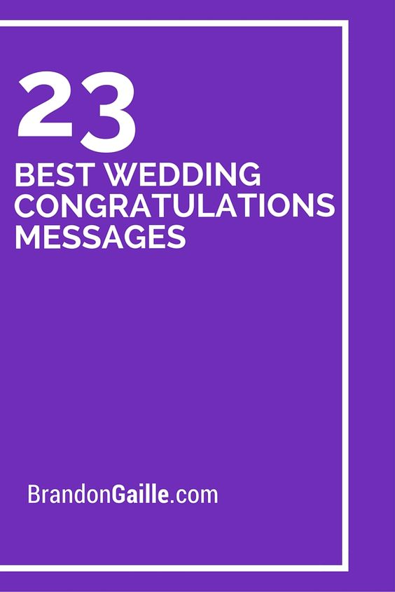 Wedding Congratulations Wedding And Messages On Pinterest