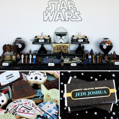 A Jedi, Galactic Star Wars Party: