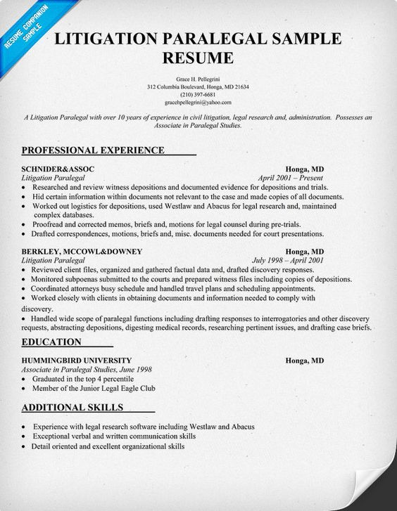 paralegal resume images about paralegal ninja on paralegal