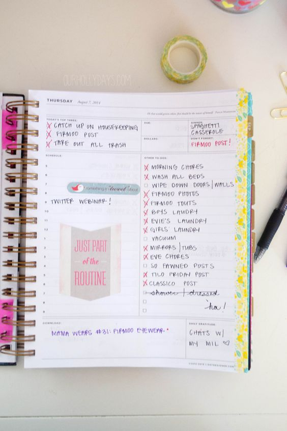 Get Organized with the Whitney English Day Designer // GIVEAWAY: