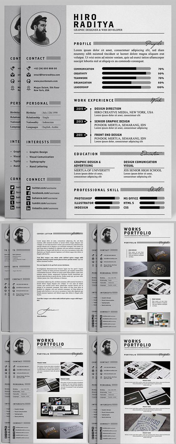Free Professional Resume, Letter & Portfolio Templates (AI