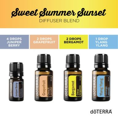 Calming and uplifting, this blend is the perfect way to start your day.: