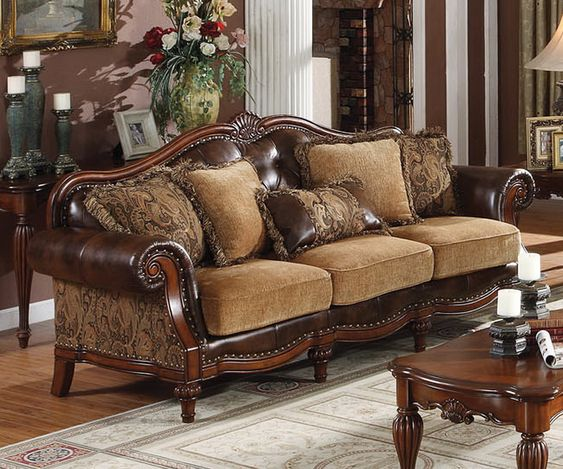 Dreena Traditional Bonded Leather And