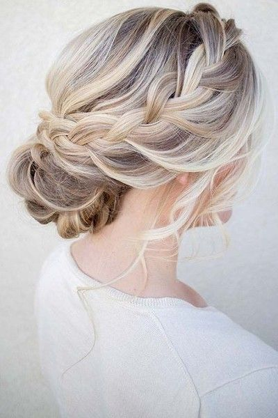 30 Most Pinned Beautiful Bridal  Updos  Messy Braid