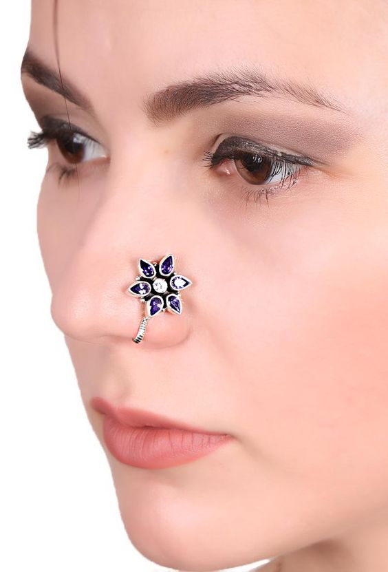9 Latest Clip On Nose Pin Designs For Ladies Styles At Life