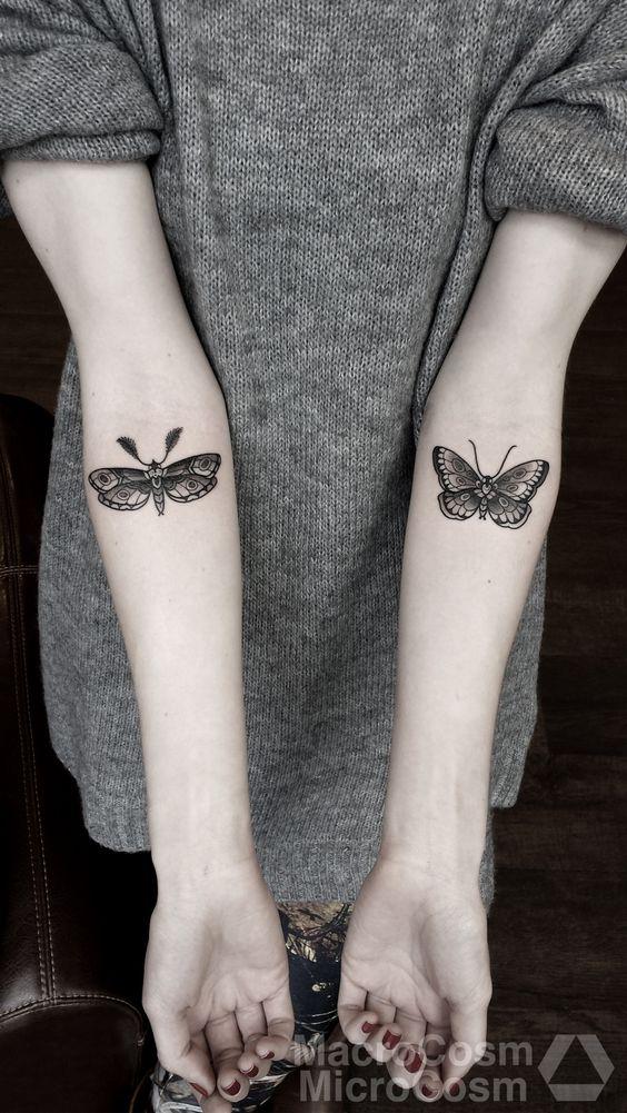 tatouages papillons