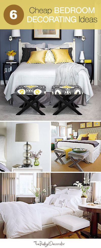 Bedroom decorating ideas, Decorating ideas and Bedrooms on ...