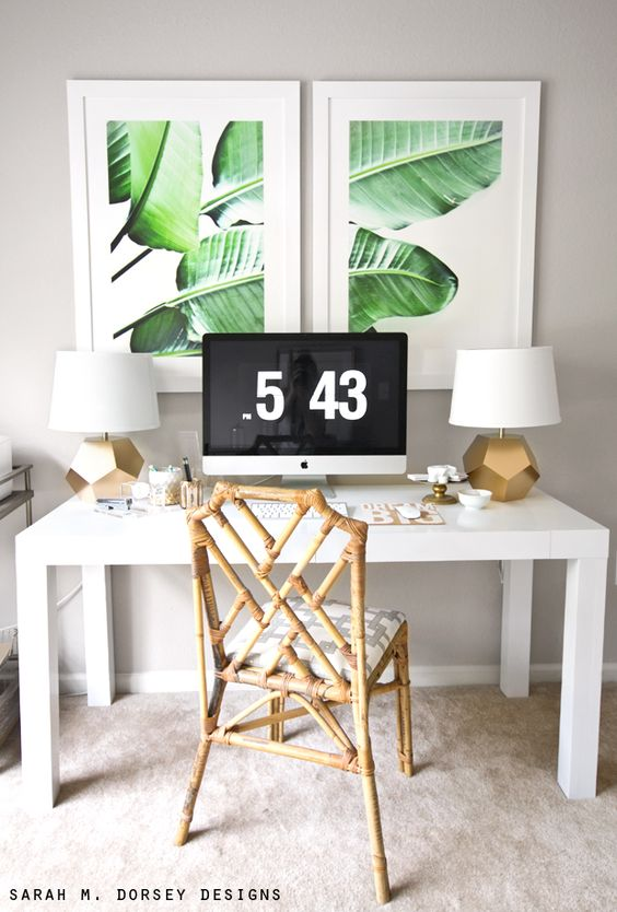 sarah m. dorsey designs: Large Scale Banana Leaf Prints | DIY: