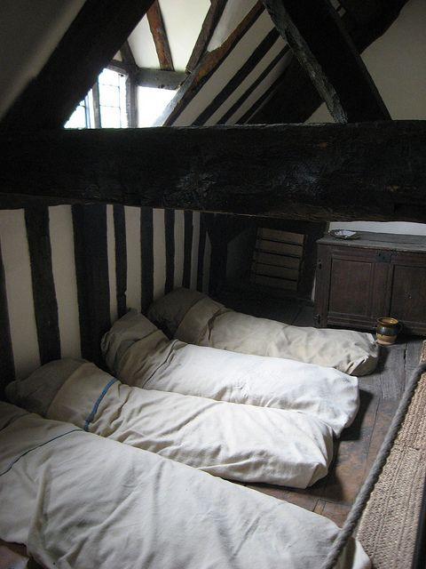 Beamed Bedroom, Mary Arden's Farm:
