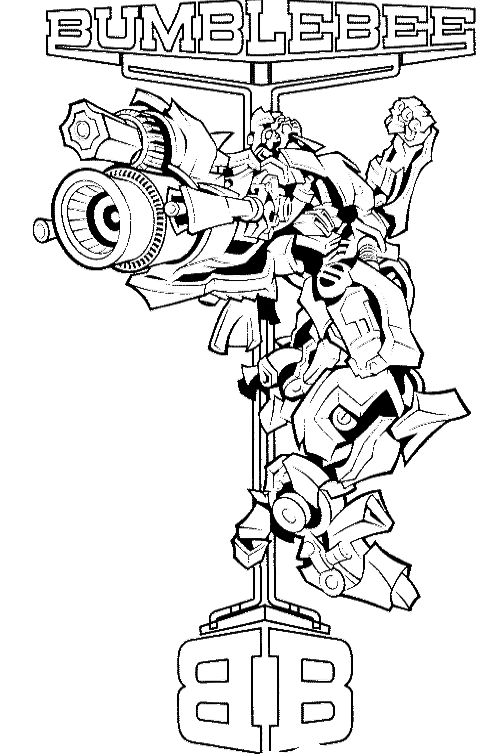 Free Transformer Coloring Pages Transformers Coloring Pages Free