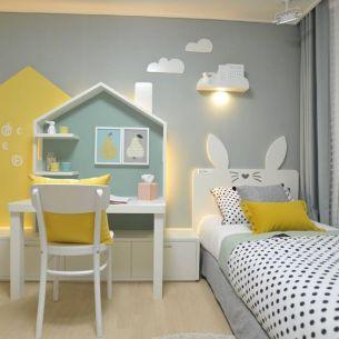 O quarto infantil deve estimular a criança, desde pequena, a interagir com o ambiente. Um quarto temático, é bonito e desempenha muito bem esse papel.: