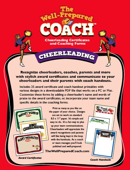 graphic regarding Cheerleading Templates Printable known as Cheerleading Award Templates. cheerleading birthday