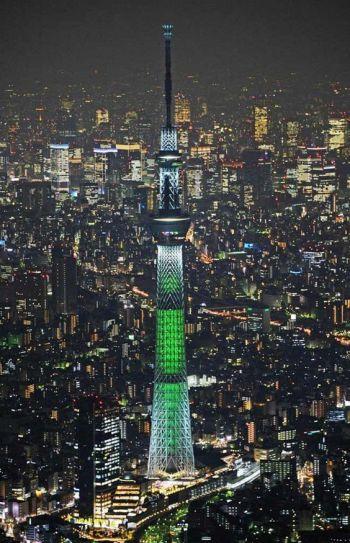 Tokyo Skytree Tower night view