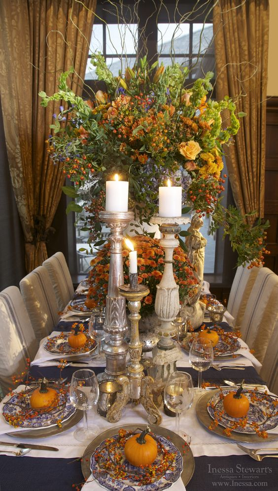 Thanksgiving, Fall table and Thanksgiving holiday on Pinterest