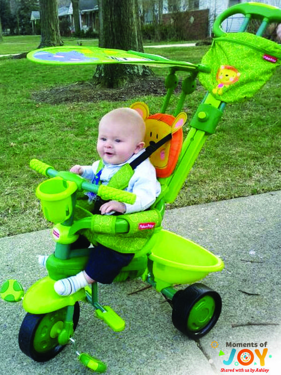 The StrolltoRide Trike transitions from a parent