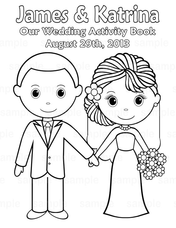 free printable wedding wedding coloring pages and coloring books