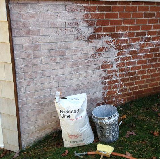 Lime Wash Brick Exterior Exterior Painting Home Design Ideas