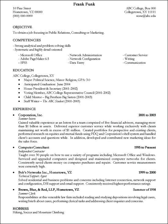 free resume writing template resume good resume writing templates