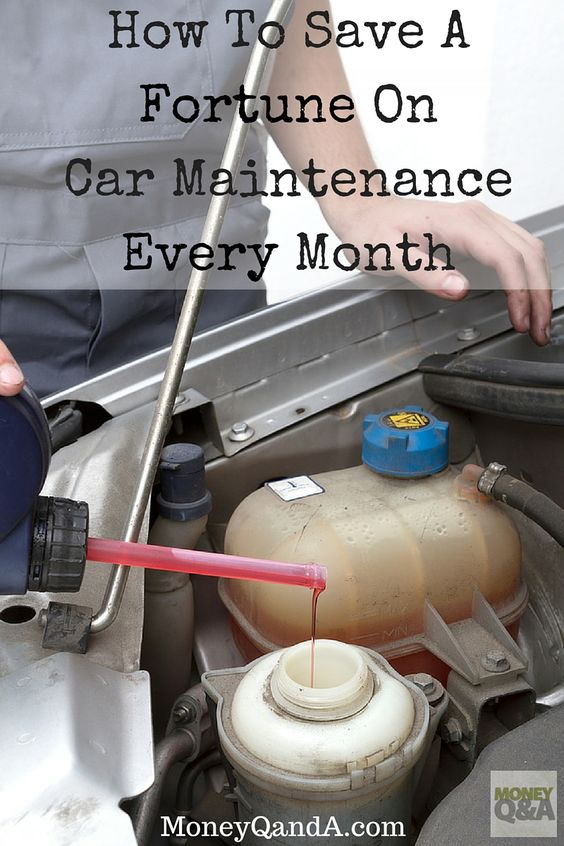 How To Save A Fortune On Car Maintenance Every Month All Things Vehicles And Auto Shops