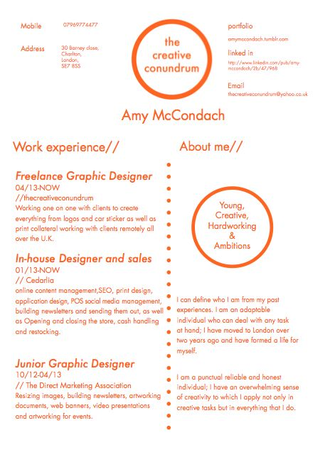 cv design graphic design typeface pinterest graphic design