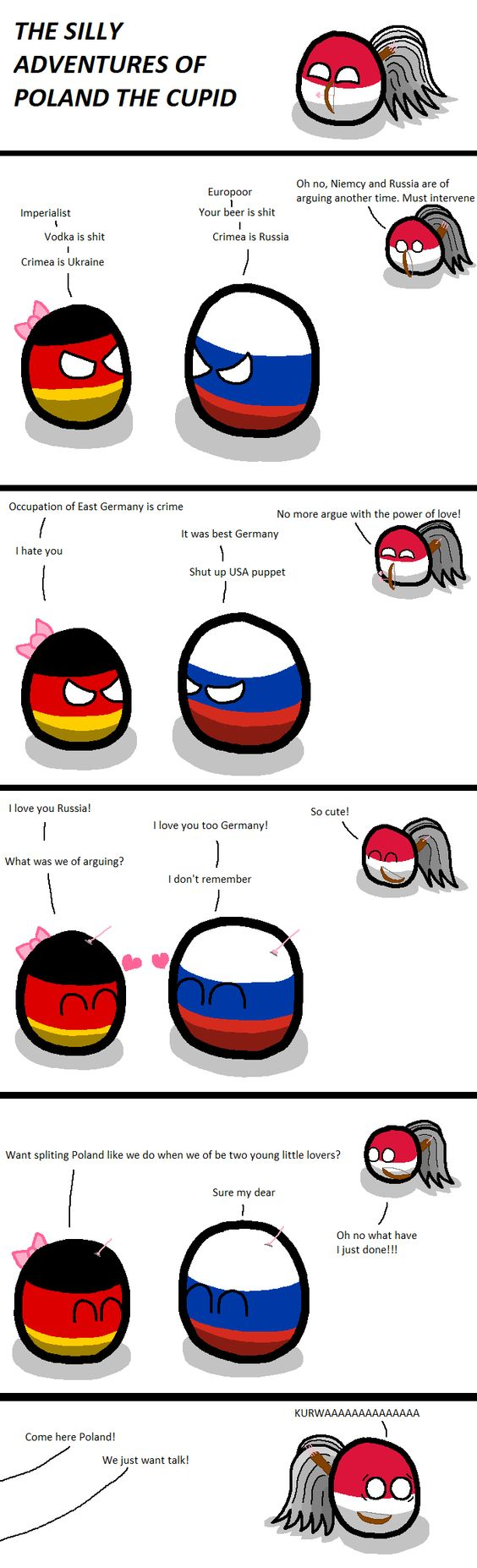Found via the Polandball facebook page ^^ Poland the Cupid