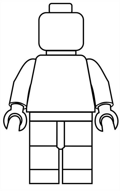 lego templates and figs on pinterest