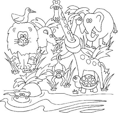 jungles kittens and coloring pages for kids on pinterest