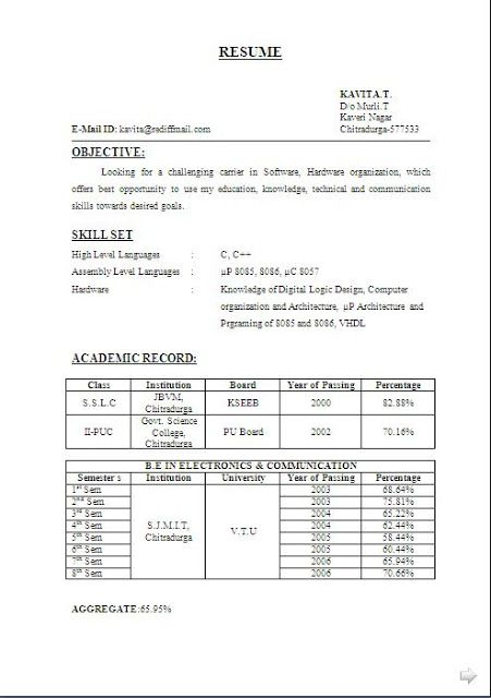 best skills for resume free download sample template example of