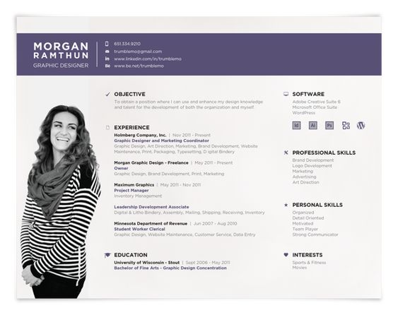resume format resume styles and resume on pinterest