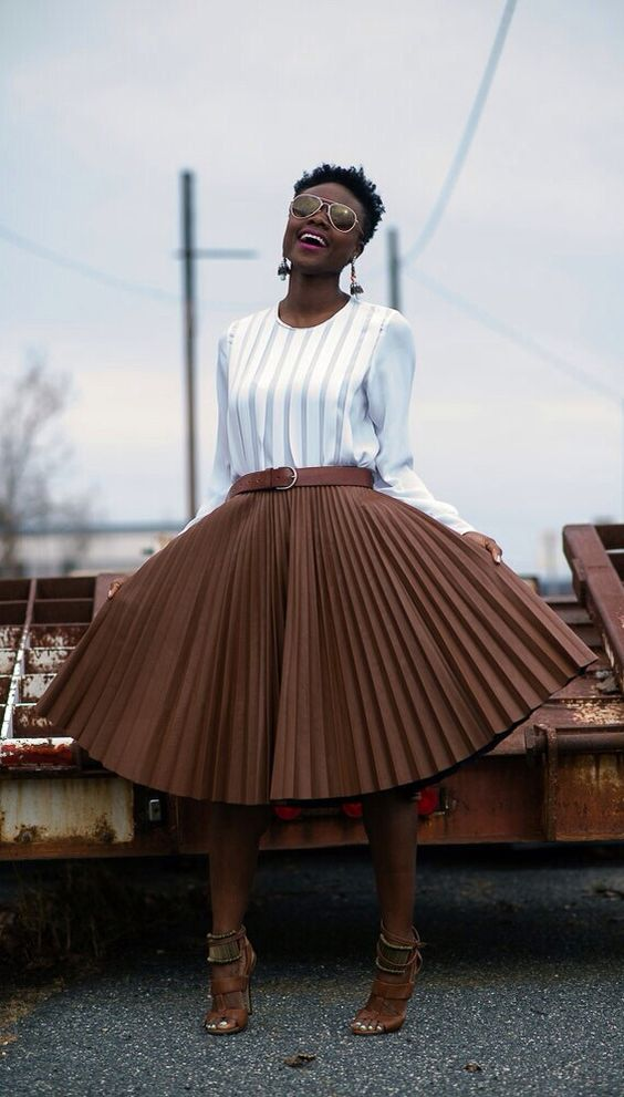 Skirt on fleek: