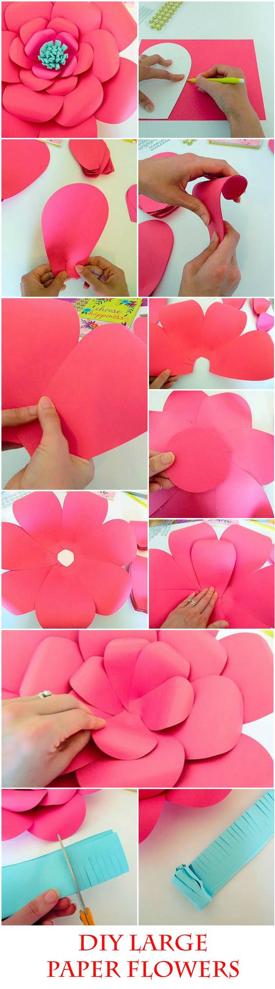 Handmade Flower Tutorials 37 Inspiring Flower Projects