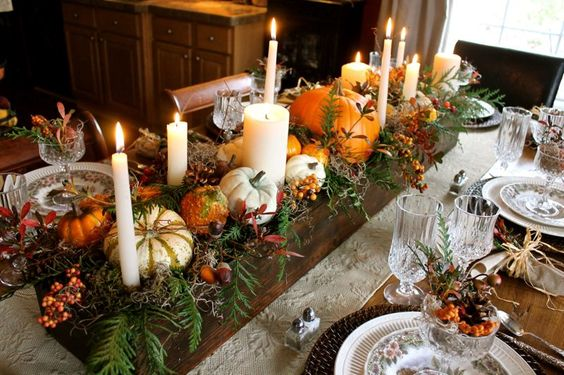 1000+ Ideas About Fall Table Settings On Pinterest