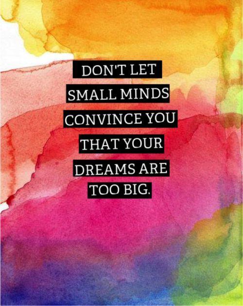 dont let small mind - Little Plastic Horses: