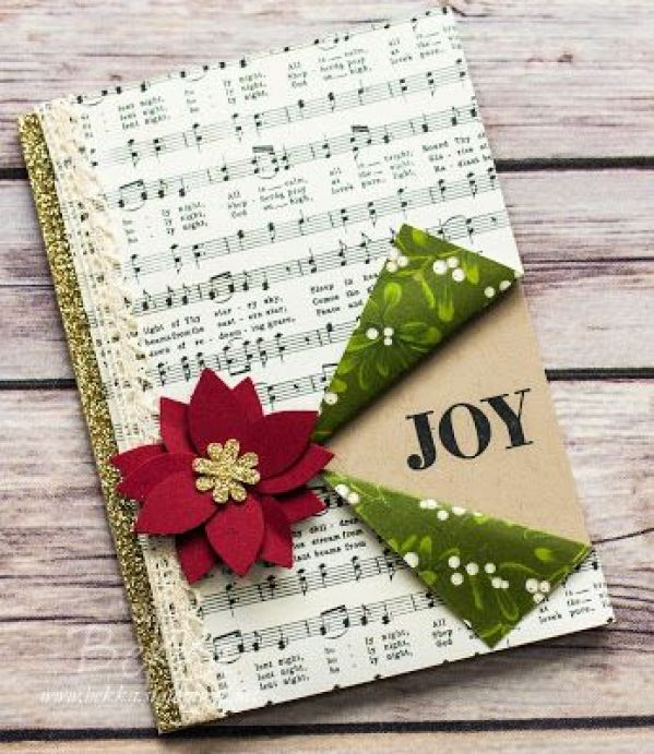 Musical Joy Christmas Card featuring products from Stampin' Up! UK - Get the details here: