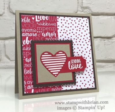 Sealed with Love, Love Notes Framelits, Stampin' Up!, Brian King: