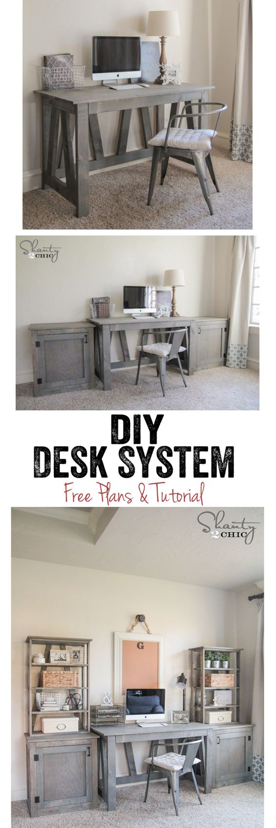 DIY Bookcase Stains, Woodworking plans and Diy desk