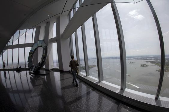 The main observation deck of One World Trade Center