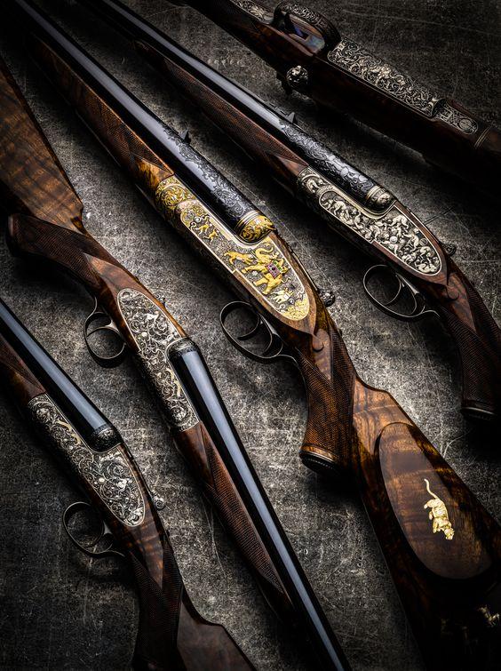 Westley Richards, Shotguns, Rifles, Paul Lantuch Zombie