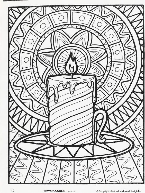More Let's Doodle Coloring Pages! Seasons, Coloring and
