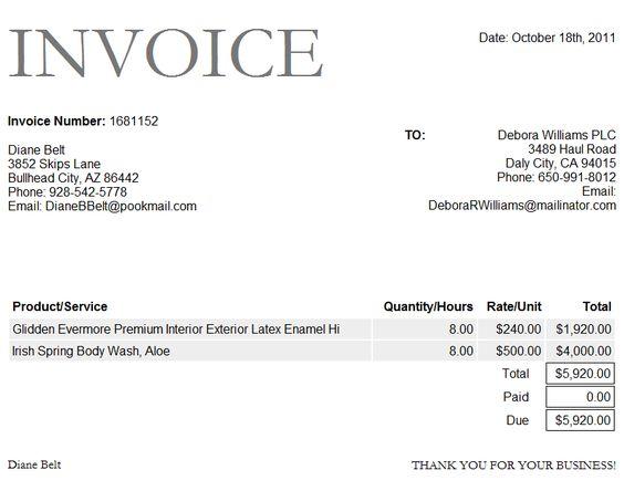 Tax Invoice Template Free sample 3 receipt invoice template free – Example of Tax Invoice
