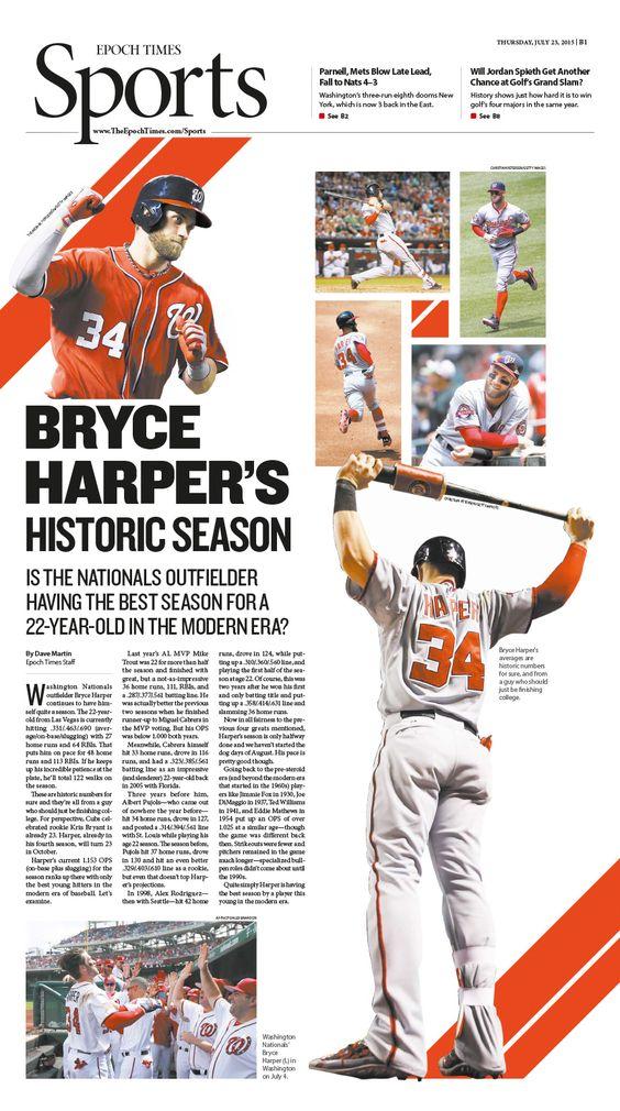 Is Bryce Harper Having the Best Season for a 22YearOld