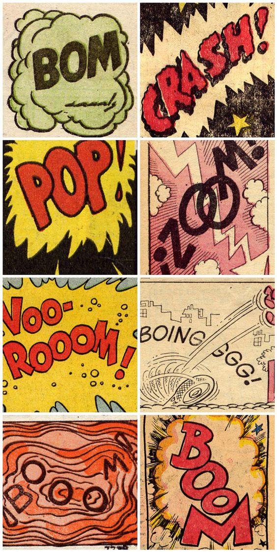 pop art pour un projet BD:
