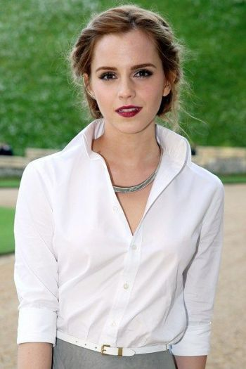 Emma Watson: Hair Style File. She's so elegantly prety I'm insanely jealous..(in a nice way though lol):